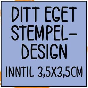 Bilde av PS Ditt eget design inntil 3,5x3,5cm