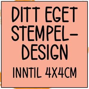 Bilde av PS Ditt eget design inntil 4x4cm
