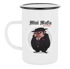 Bilde av Mini Mafia Emaljekopp høy