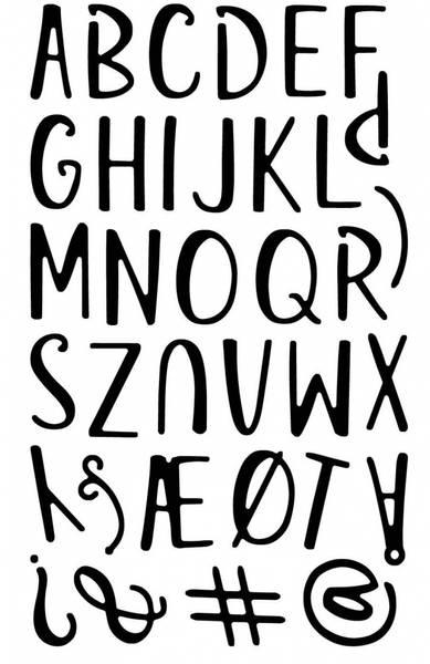 Alfabet Strella upper 1,8cm