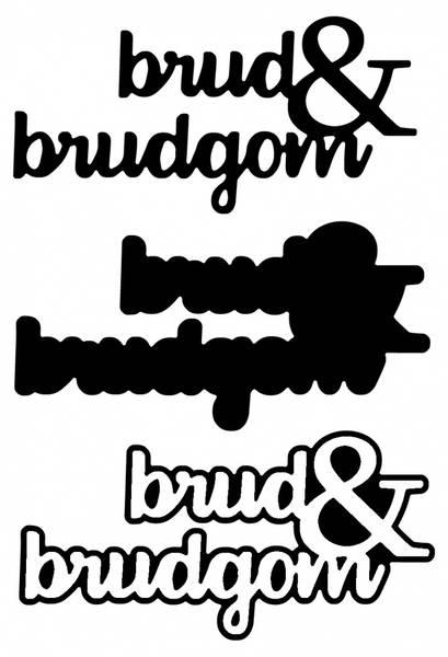 brud&brudgom m/skygge