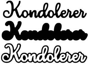 Bilde av Kondolerer m/skygge
