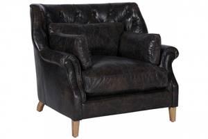 Bilde av Bedford Stol Leather Fudge -