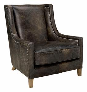 Bilde av AW44 Lenestol Leather Fudge -