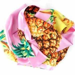 Bilde av Avlangt smalt silkeskjerf