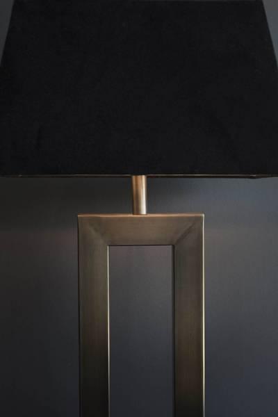 Arezzo Lampe Antikk Messing Oval Skjerm - Artwood