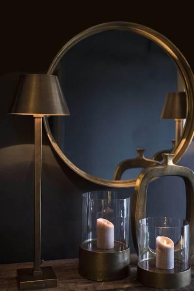 GRAZ Bordlampe Antikk Messing - Artwood