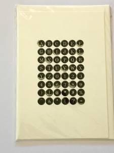 Bilde av Kort - alfabetet - Vanilla