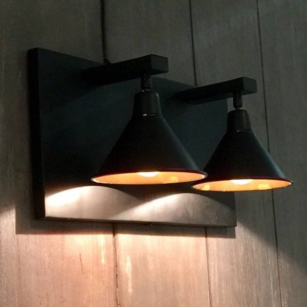 Anzio Vegglampe Dobbel - Artwood