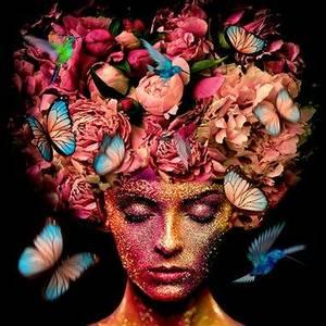 Bilde av Pink Portrait - Cobra Art