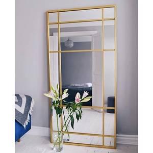 Bilde av SPIRIT Iron wall mirror, gold