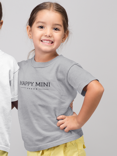 Bilde av Happy Mini Supersoft Organic Tee - Grey