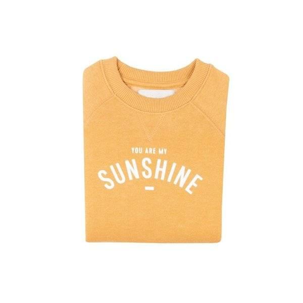 Bilde av You Are My Sunshine Unisex Sweatshirt - Mustard