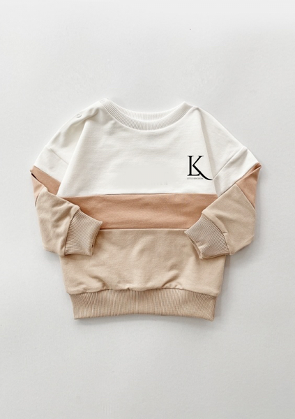 Bilde av Kids Signature Colorblock Unisex Sweatshirt -