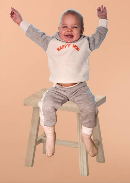 Bilde av Kids Supersoft Colorblock Unisex Sweatpants -
