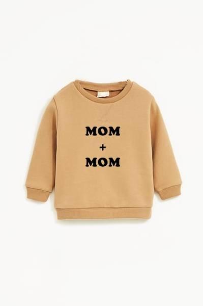 Bilde av Mom + Mom Unisex Sweatshirt - Warm Beige