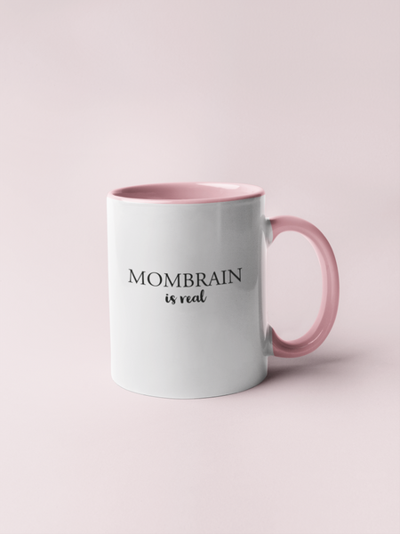 Bilde av Mombrain Is Real Coffee & Tea Cup