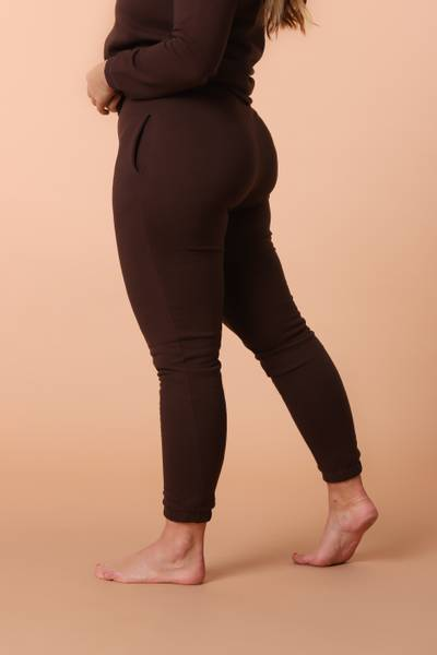 Bilde av Womens Supersoft Sweatpants - Chocolate