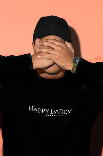 Bilde av Happy Daddy Sweatshirt - Black
