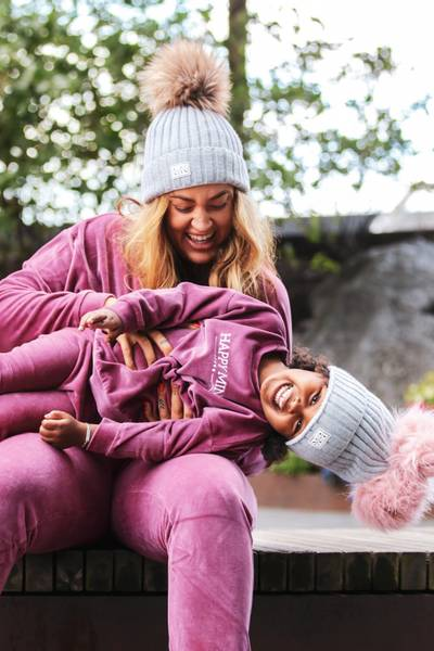 Bilde av Happy Mommy Organic Cotton Velour Sweatshirt -