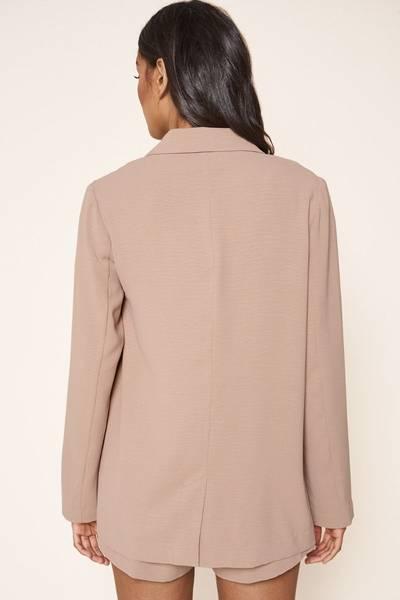 Bilde av Spring Feels Button Jacket - Tan