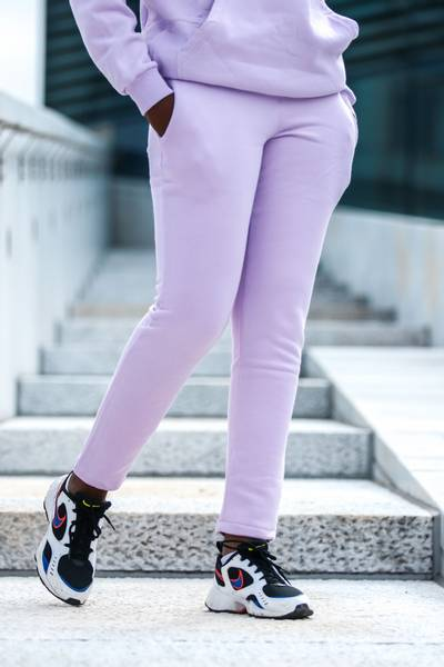 Bilde av Mommy Ankle Sweatpants - Lavendel