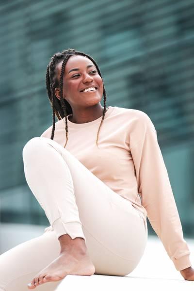 Bilde av Womens Organic Sweatshirt - Taupe
