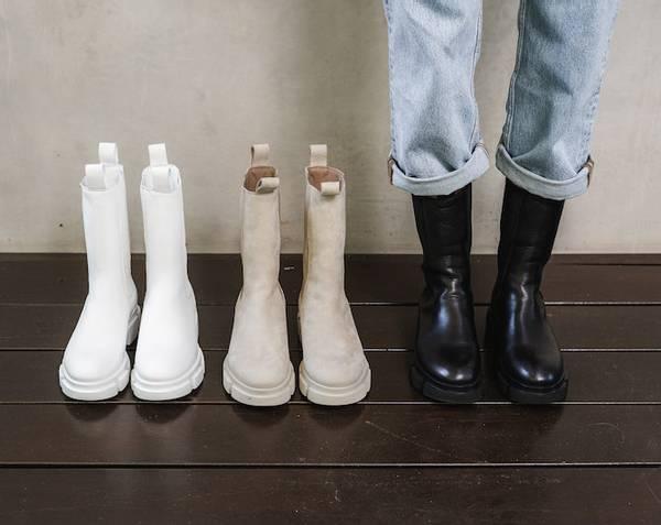 Bilde av COPENHAGEN STUDIOS Vitello Black Boots