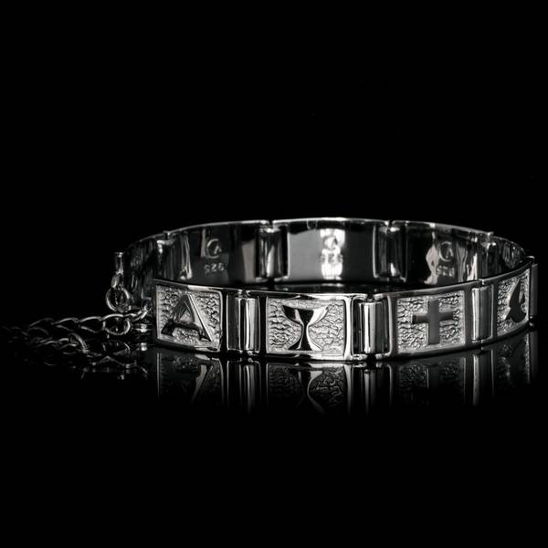 Bilde av VERA DESIGN Infinity Tiny Bracelet Silver