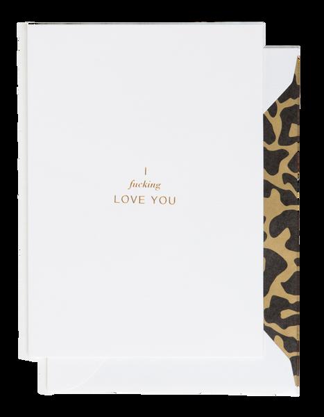 Bilde av CARDSOME I fucking Love you ( white card)