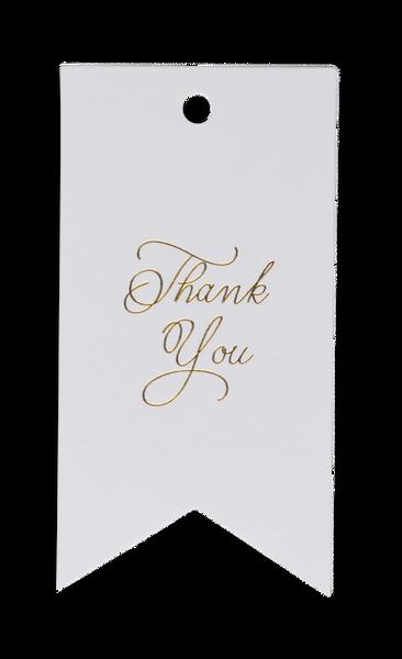 Bilde av CARDSOME THANK YOU 8-PACK GIFT TAG