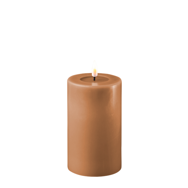 Bilde av DELUXE  REAL FLAME LED CANDLE CARAMEL D7,5CMXH12,5CM