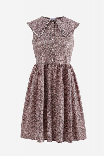 Bilde av CILLA DRESS PINK FLOWER NOELLA