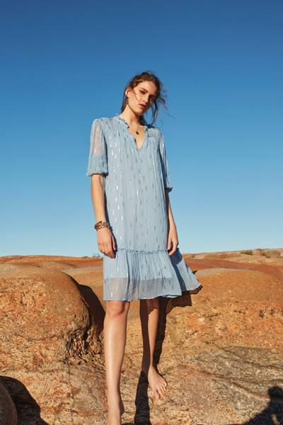 Bilde av BALI IRENE DRESS PALE BLUE KATRIN URI