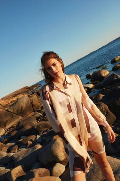 Bilde av NEW YORK ISOLA DRESS ROSE KATRIN URI
