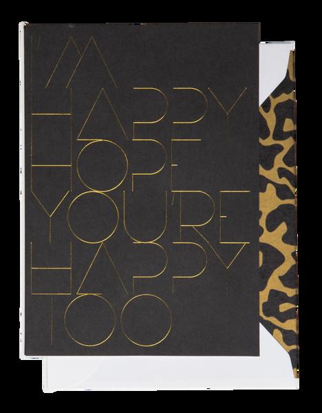 Bilde av CARDSOME I´M HAPPY HOPE YOU´RE HAPPY TOO