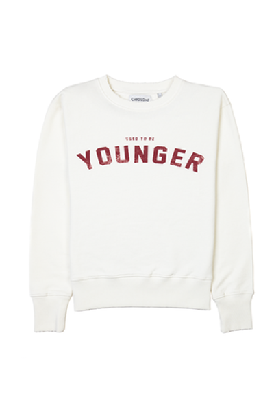 Bilde av CARDSOME USED TO BE YOUNGER CREWNECK