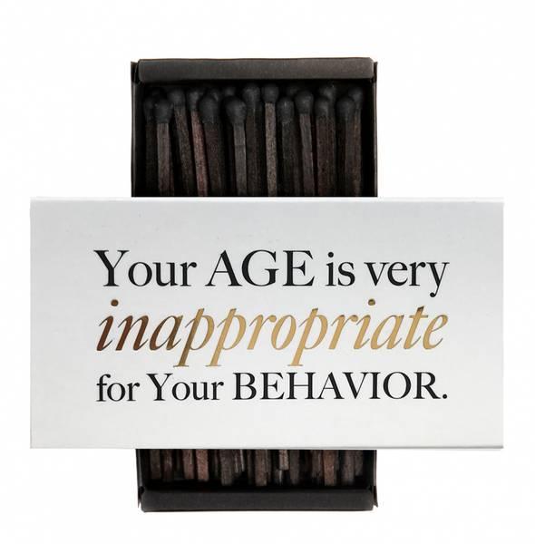 Bilde av CARDSOME Your age.. Matches