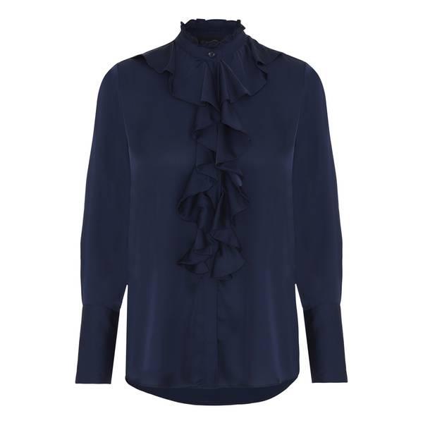 Bilde av KARMAMIA Stella shirt Dark Blue