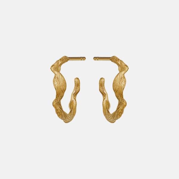 Bilde av MAANESTEN Ara Earrings Gold