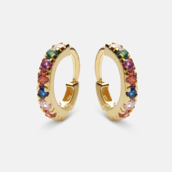 Bilde av MAANESTEN Nubia Color Earring Gold