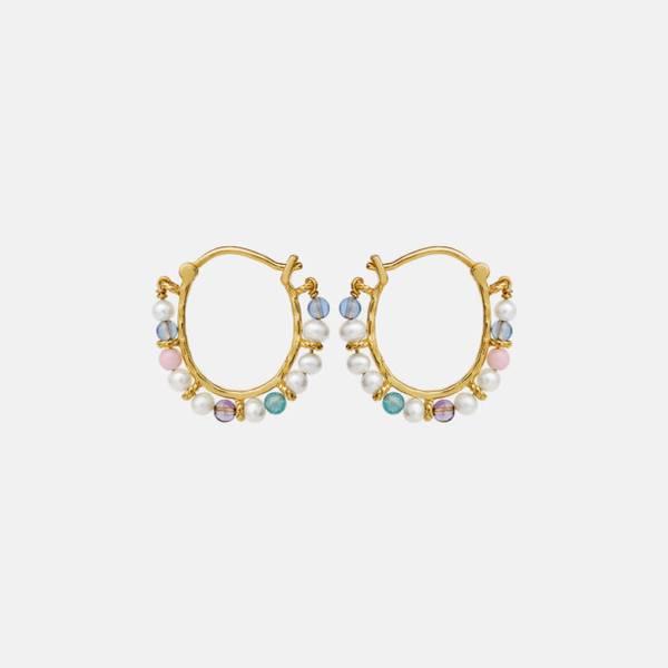Bilde av MAANESTEN Phile Multi Earrings Gold