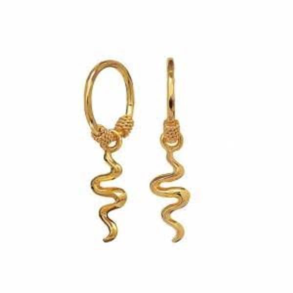 Bilde av MAANESTEN Aryah Earrings Gold