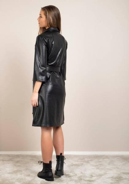 Bilde av DRY LAKE GULLIS DRESS BLACK FAUX