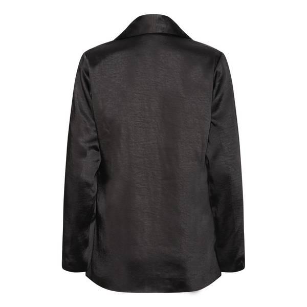 Bilde av KARMAMIA Suit Blazer Black Rich Satin