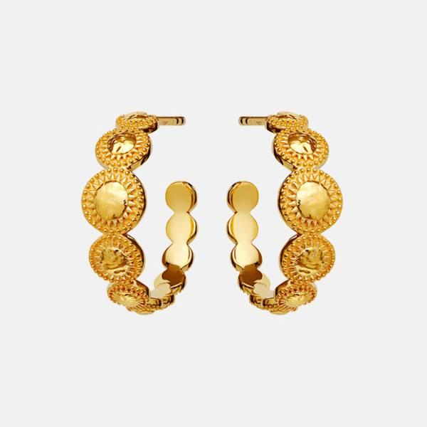 Bilde av MAANESTEN TARA EARRINGS GOLD