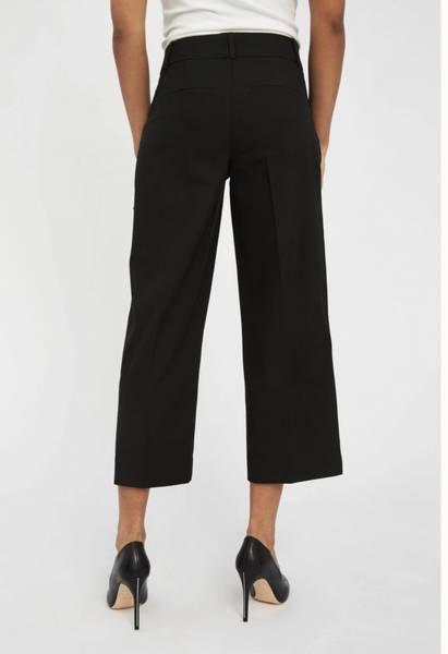 Bilde av FIVE UNITS Dena 285 Crop Black Glow Pants