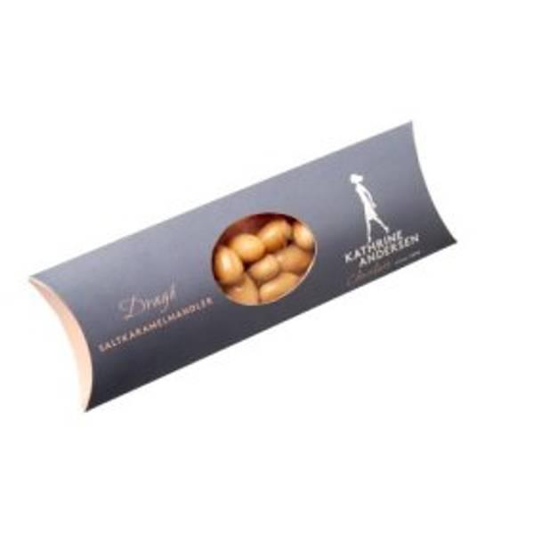 Bilde av Sjokoladekuler med Salt Karamell Mandler