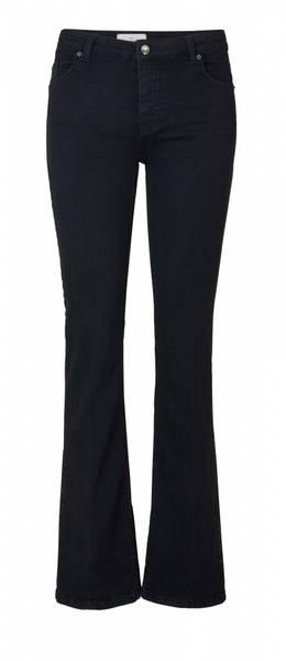 Bilde av FIVE UNITS Naomi 241 Black Auto Jeans Flared
