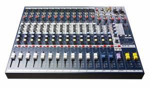 Bilde av Soundcraft EFX12 12+2, 2 aux med Lexicon klang,